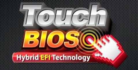 Gigabyte Touch BIOS Hybrid EFI Technology