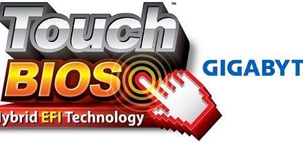 Gigabyte exhibe su aplicación Touch BIOS en video