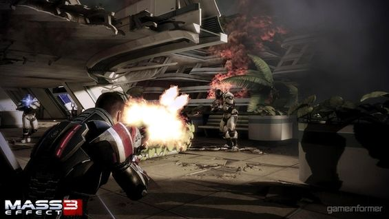 Primeras capturas in-game de Mass Effect 3