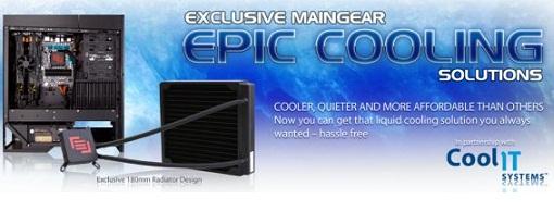 Maingear anuncia su sistema de refrigeración liquida EPIC 180