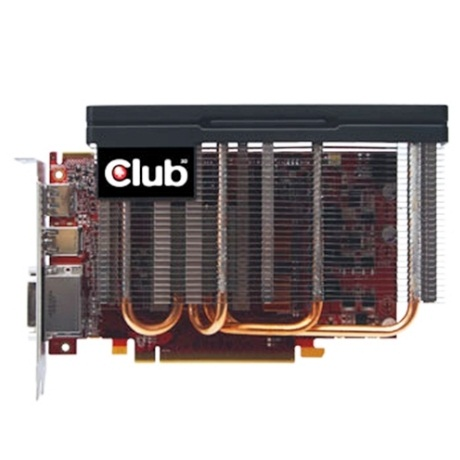 Radeon HD 6750 CoolStream Edition de Club 3D