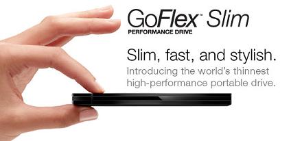Nuevo disco duro externo GoFlex Slim de Seagate