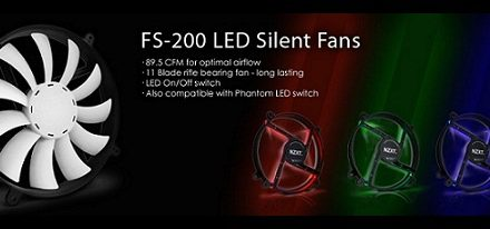 NZXT lanza sus ventiladores FS-200