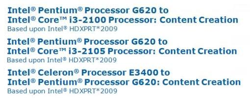 Filtrados detalles del rendimiento de un Intel Pentium G620