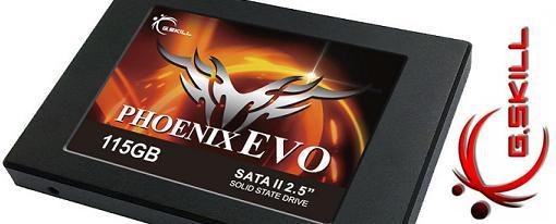 G.Skill lanza su SSD Phoenix EVO de 115 GB