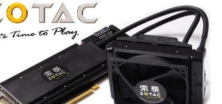Zotac prepará una GeForce GTX 580 con refrigeración liquida
