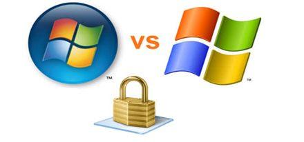 Windows 7 mas seguro que XP