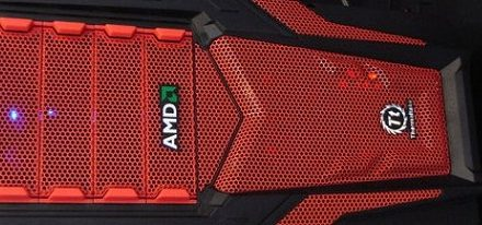 Thermaltake lanzará un case Chaser MK-1 AMD Special Edition