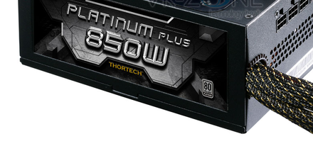 Nueva fuente de poder Thortech Platinum Plus de 850W