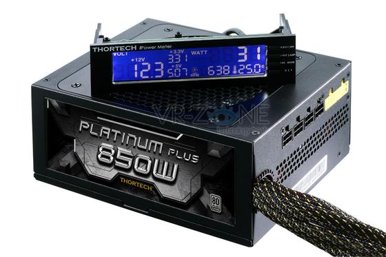 Fuente de poder Platinum Plus 850W de Tortech