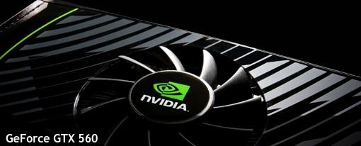 Nvidia hace oficial su GeForce GTX 560