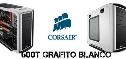 Corsair Anuncia la Edición Especial de la Serie 600T en Color Grafito Blanco
