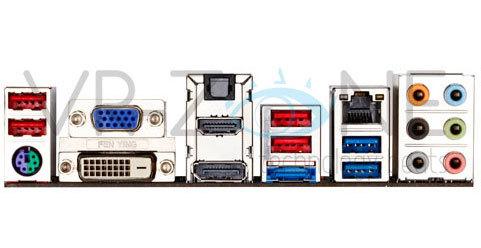 Tarjeta madre GA-Z68MX-UD2H de Gigabyte