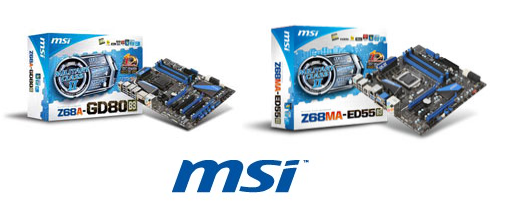 MSI hace oficial dos placas con chipset Z68