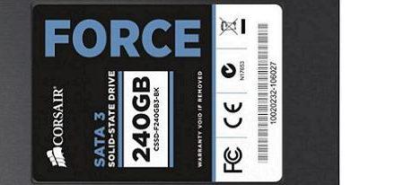 Corsair anuncia su nueva serie Force 3 de SSDs