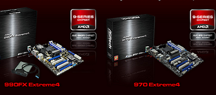 ASRock hace oficiales sus tarjetas madres 990FX Extreme4 & 970 Extreme4