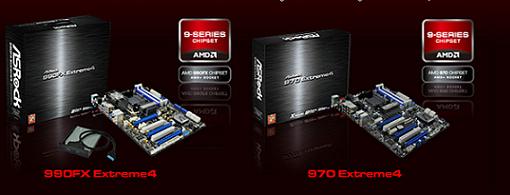 ASRock hace oficiales sus tarjetas madres 990FX Extreme4 & 970 Extreme4