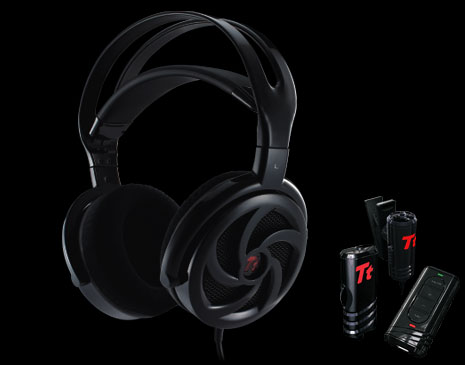 Audifonos SHOCK 'SPIN' HD de Tt eSPORTS -Black