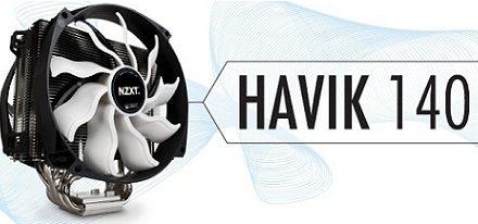 NZXT presentó su primer CPU Cooler, el Havik 140