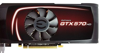 EVGA GeForce GTX 570 HD con 2.5 GB de memoria