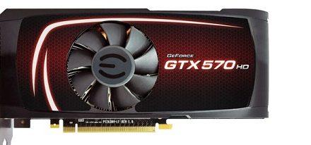 EVGA GeForce GTX 570 HD con 2.5 GB de memoria