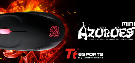 Nuevo mouse gaming Azurues Mini FPS de Tt eSPORTS