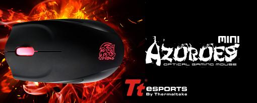 Nuevo mouse gaming Azurues Mini FPS de Tt eSPORTS