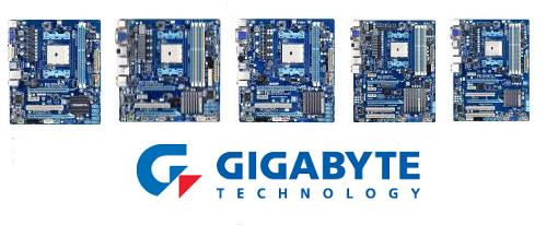 Gigabyte presentó su serie de tarjetas madres A75