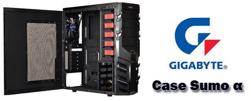 Gigabyte reveló el Case Mid-Tower Sumo α (Alfa)