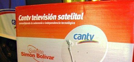 TV Satelital Cantv para finales año