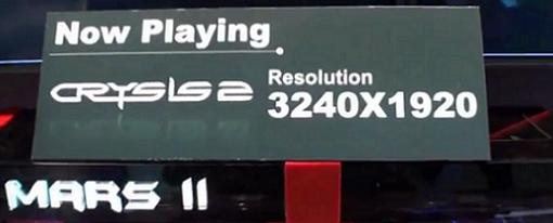 Jugar Crysis 2 con una resolución de 3240 x 1920?