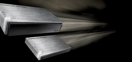 Nuevos discos duros externos diseñados por Porsche de LaCie