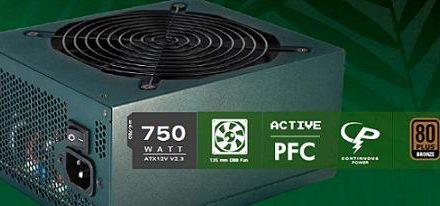 Nueva fuente de poder EarthWatts EA-750 Green de Antec