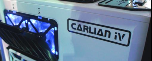 InWin mostró su prototipo de case 'Carlian iV'
