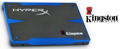 Kingston anunció su serie de SSD's HyperX con controlador SandForce