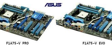 Asus lanza su serie de placas F1A75 para las APU Llano de AMD