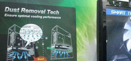 MSI anuncia refrigeración autolimpiante