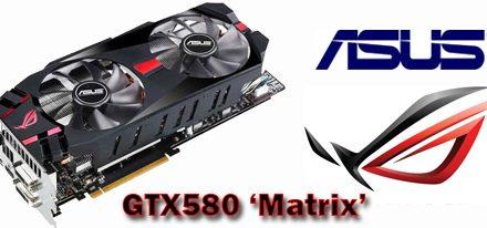 Asus lanza oficialmente tarjeta grafica ROG Matrix GTX 580