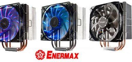 Enermax anuncia su serie de CPU Cooler's ETS-T40