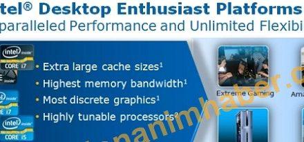 Detalles del rendimiento del Intel Core i7-3960X