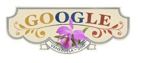 Google dedica doodle al Bicentenario de Venezuela