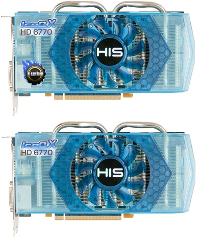 HIS 6770 IceQ X Turbo & 6770 IceQ X