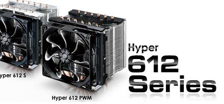 Cooler Master presentó sus disipadores serie Hyper 612