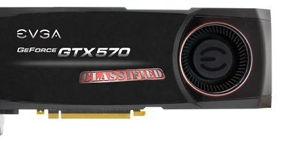 EVGA lanzó su GeForce GTX 570 Classified