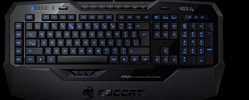 El teclado gaming Isku de Roccat llegará en septiembre