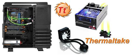 Thermaltake anuncia una serie completa de productos de refrigeración líquida