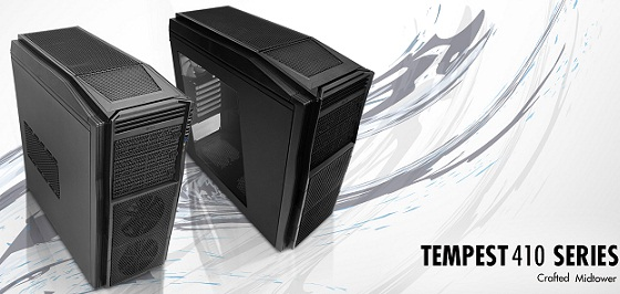 Case's Tempest 410 & 410 Elite de NXZT