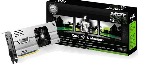KFA2 presentó sus GeForce's GTX 560 Ti MDT X5 & 210 MDT X4