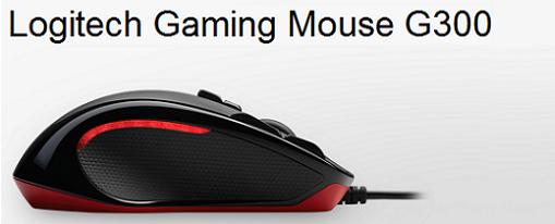 Mouse Gaming G300 de Logitech