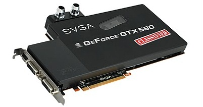 GeForce GTX 580 Classified de EVGA